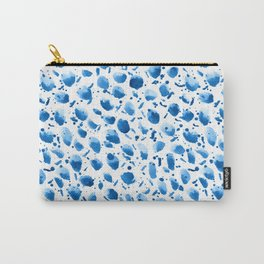 Navy spots pattern Carry-All Pouch