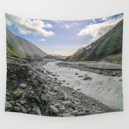 Beyond the Glacier Valley Wall Tapestry
