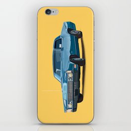 Vintage car solid colour iPhone Skin