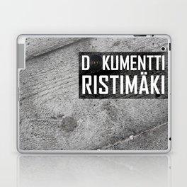 Dokumentti Ristimäki Black Laptop & iPad Skin