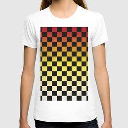 Chessboard Gradient IV T-shirt