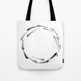 Fishes enso Tote Bag