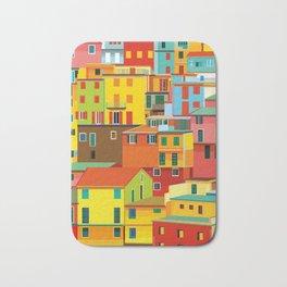 Manarola, Cinque Terre, Italy Bath Mat