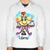 libra Hoodies featuring libra by sladja