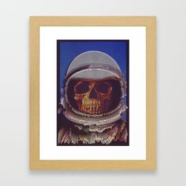 At A Certain Distance In space Or Time Framed Art Print