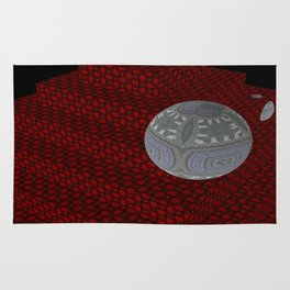 Bleeding Leopard Steps 6 Rug