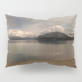 lake wanaka silent capture at sunset in new zealand Pillow Sham