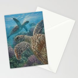 Sea Turtles - Turtle Bay Stationery Cards