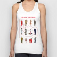 the royal tenenbaums Tank Tops featuring The Royal Tenenbaums by Shanti Draws