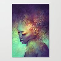 camouflage Canvas Prints featuring Camouflage by Anna Dittmann