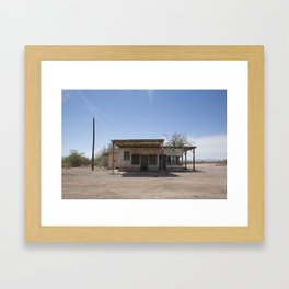 Abandoned Vidal Framed Art Print