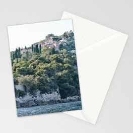 Snorkeling where France meets Italy Stationery Cards