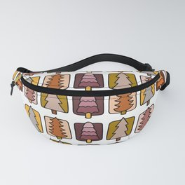 Cute Forest Retro Palette Fanny Pack