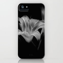Lily BW iPhone Case