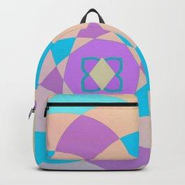 Mandal color wheel Backpack