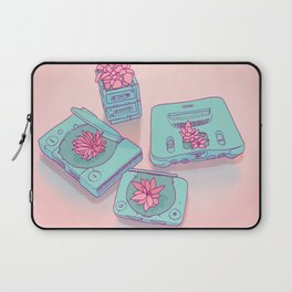 Flowers & Consoles Laptop Sleeve