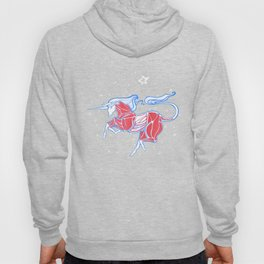 Cross-Section of a Unicorn (No Background Ver.) Hoody