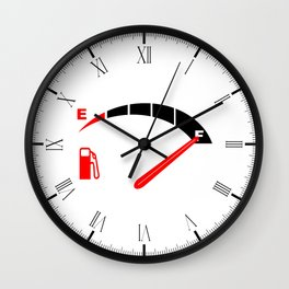 A Full Fuel Tank Wall Clock