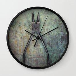 Pliers II Wall Clock