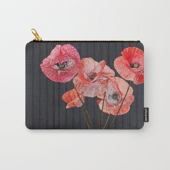 Still life with poppies Carry-All Pouch