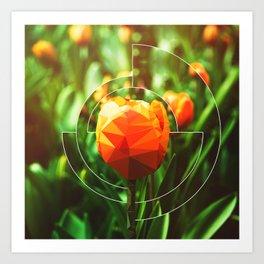 Tulip Imposter Art Print