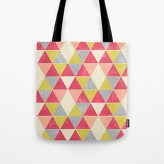 Tri-Frenzy Tote Bag