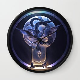 Beasts in a teacup Wall Clock