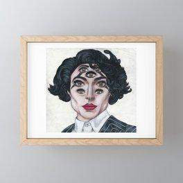 Ezra Miller Framed Mini Art Print