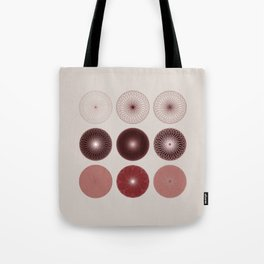 circles of the heart .. 384 Tote Bag