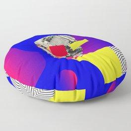 Space Portrait Floor Pillow