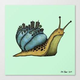Snail City Canvas Print