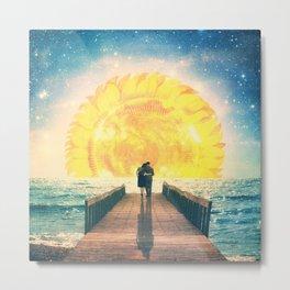 A Beautiful Sunrise Metal Print