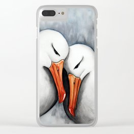 Albatross Clear iPhone Case