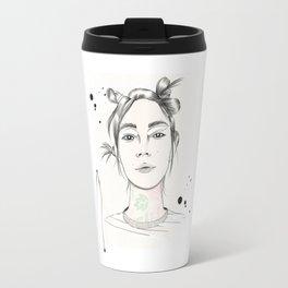City Chic Fashion Illustration Travel Mug