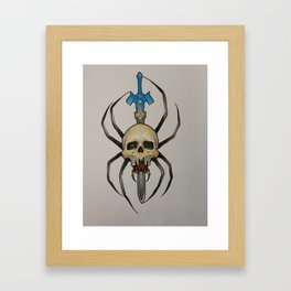 skulltula Framed Art Print