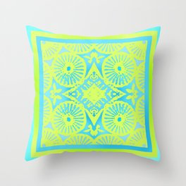 tropicana quicksand Throw Pillow