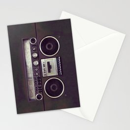 Retro Boombox Stationery Cards