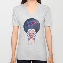 Constellations - Ahsoka Tano - Aries Unisex V-Neck