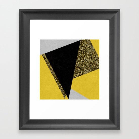 Minimal Complexity v.3 Framed Art Print