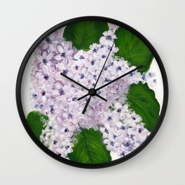 Lavender Love Wall Clock