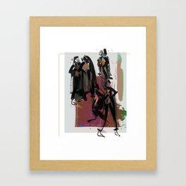 I Move, You Move Framed Art Print