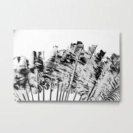 BW Tree Metal Print