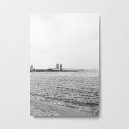 Barcelona Coast II Metal Print