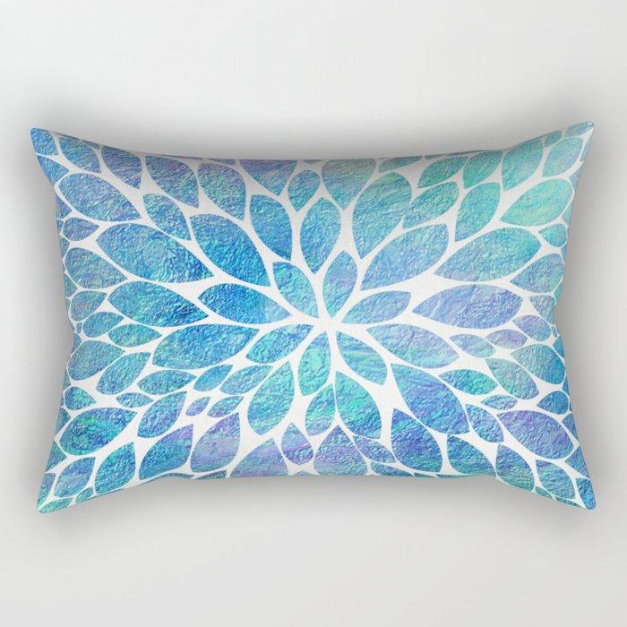 Petal Burst #8 Rectangular Pillow