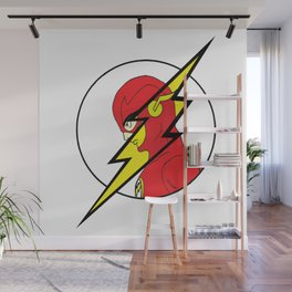 The Flash Wall Mural