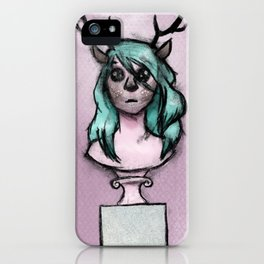 The Idols We Created in Our Bedrooms with Webcams and Makeup Palettes iPhone Case