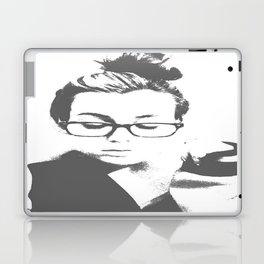White Teeth Teen Laptop & iPad Skin
