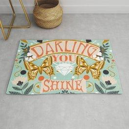Darling You Shine Rug