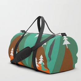 Bears walking home Duffle Bag