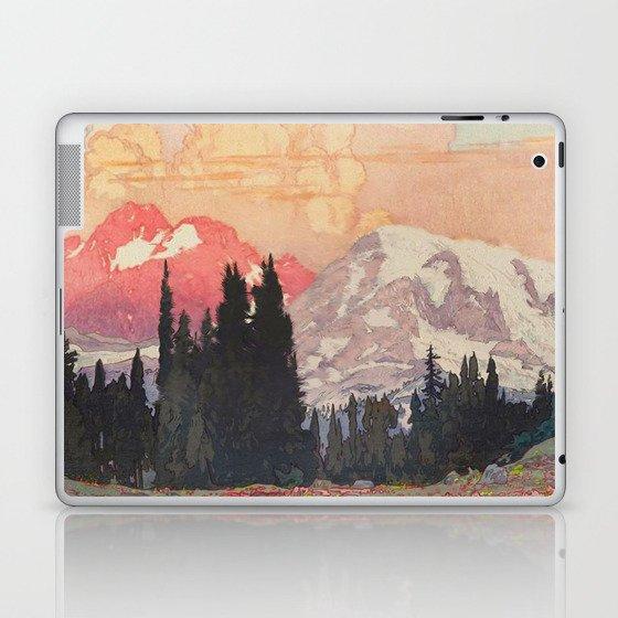 Storms over Keiisino Laptop & iPad Skin